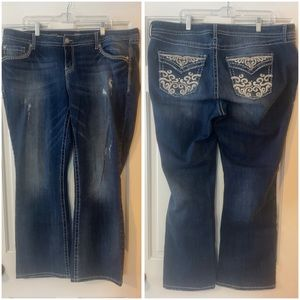 Torrid Relaxed Fit Boot Cut Jeans Plus Size 18